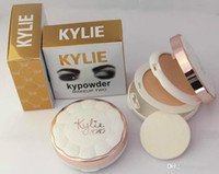 Kylie Kypowder Makeup Deux couches de poudre pour le visage Blanchissant Nutritive Long-Lasing Press Powder Have 4 Different Colors