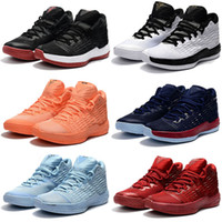 Wholesale carmelo sneakers for sale - Group buy Hot sale High Quality Carmelo Anthony Men Fashion Baseball shoes M13 Sports Training Sneakers Size