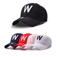 UK Hot Cotton Embroidery Letter W Baseball Cap Snapback Caps Fitted Bone Casquette Hat For Men Custom Hats DHgate Mobile