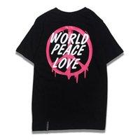 Wholesale World War Shirt - High Quality Fashion Hiphop Tee Shirt World Peace Love No War T Shirt Men Women Summer Collection