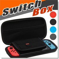 Wholesale Video Game Switches - For Nintendo Switch 4 Colors Video Game Hosting Bag Controller Carrying Case NS Vedeo Game Console Protective Pouch Bag