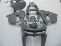 kawasaki zx9r ninja körperteile großhandel-Kostenlose 7 Geschenke Karosserieteile Verkleidung Kit für Kawasaki Ninja ZX9R 98 99 grau Verkleidungsteile ZX9R 1998 1999 TY28