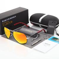 Wholesale Aluminum Magnesium Alloy Sunglasses - BARCUR 2018 Aluminum Magnesium Men's Sunglasses Polarized Men Coating Mirror Glasses oculos Male Eyewear Accessories For Men