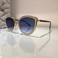 Wholesale Design Come - 4222 Fashion Sunglass Women Brand Deisnger Cat Eye Full Frame UV400 Lens Summer Style Adumbral Butterfly Design Mixed Color Come With Case