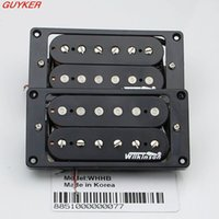 Wholesale Pickup Magnet - WLS Humbucker Guitar Pickup Set - WHHB (neck & bridge) Alnico 5 Magnet Copper-Nickel Base