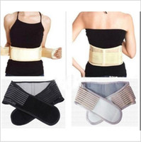 Wholesale Backache Pain Relief - Magnetic Slimming Massager Belt Lower Back Support Waist Lumbar Brace Belt Strap Backache Pain Relief Health Care YYA133