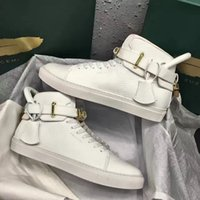 Wholesale Flat Wedge Sneakers - Perfect Quality Increased Wedges 950 Men Boost Shoe Gold Lock Sneakers Shoes High Top Shoe Women 750 Leisure Casual Walking Flats
