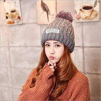 Wholesale Mishka Men Beanie - Hot Sale Keep Watch Mishka Beanies Caps with Pom Winter Hat High Quality Women Men Knitted Caps