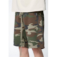 Vintage High Street Fashion Style Camo kurze Hose Männer Hip Hop Streetwear Sagging Shorts Justin Bieber gleiche Skateboards Shorts XL