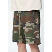 Vintage High Street Fashion Style Camo Short Pant Men Хип-хоп Streetwear Sagging Shorts Justin Bieber Такие же скейтборды Шорты XL