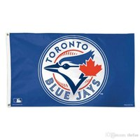 Wholesale Toronto Blue Jays Flag Baseball Team Flag Party Decoration Outdoor Garden Banners Kids Birthday Party Decoration High Quality Collection Fla