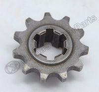 Wholesale mini pocket atv 49cc resale online - T8F T front pinion sprocket tooth of clutch gear box for stroke cc cc mini moto pocket atv dirt bike Crosser Minimoto