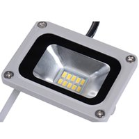 Wholesale Led Home Floodlights - Wholesale-10W 220V Led Outdoor Floodlight 10LED lights 720LM SMD 5730 Floodlights For Street Square Highway Wall Billboard Home Garden