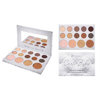 Wholesale Hot Glow - Hot Sell Cosmetics 14 Color Shadow & Highlighter Nake Matte Glitter Shadow Palette Glow Kit