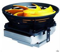 Wholesale Cpu Am3 - Wholesale- CPU Cooler fan Quiet 12cm fan cooling for LGA 1151 775 115x for AM2+ AM3+ FM1 FM2 Radiator PcCooler Q120
