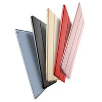 Wholesale Waterproof Case For Original Ipad - Original Ultra Slim Smart Case Cover For iPad 234 Air12 Mini1234 Pro 9.7 PU Leather Tablet Cases Auto Wake Sleep