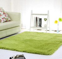 Wholesale Anti Skid Mats - Fluffy Rugs Anti-Skid Shaggy Area Rug Dining Room Home Bedroom Carpet Floor Mat, 14 Colors, 6 Sizes