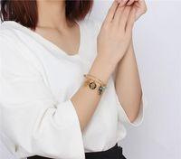Wholesale Evil Eye Gold Bracelet Plated - New Design Stainless Steel Hand of Fatima Wire Bangle Bracelet Vintage Expandable Women's Hamsa and Evil Eyes Charm Bracelets Jewelry