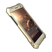 Wholesale Yellow Camera Case - Phone Case For Samsung Galaxy S7 edge Macro Lens Camera Case Metal Aluminum Waterproof Shockproof Dirt proof phone Cover