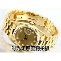 Wholesale Cheap Stainless Gold Watch - Hot sale gold good man with brand new drop shipping Mechanical cheap High quality Automatic master men watch luxury sports Men's Watches