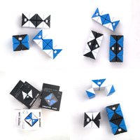 Wholesale Exotic Fashion - New Exotic Infinity Magic Cube For ADD ADHD Anxiety Cube Fidget Toys Hand Puzzle Game New fashion cube MC001