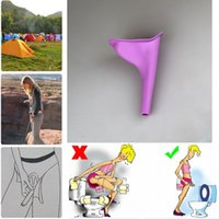 Wholesale urination device urine for sale - Group buy Women Urinal Soft Silicone Urination Device Travel Outdoor Camping Stand Up Pee Female Urine Toilet YYA137