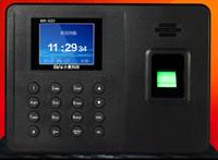 relógios italianos venda por atacado-Atacado-2,4 polegadas tela TFT Biometric Fingerprint Time Attendance Clock Empregado suporta Inglês, Português, Espanhol, Alemão, Italiano