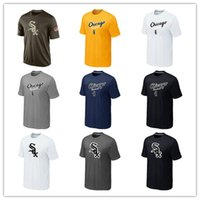 Wholesale Cheap Banners - MLB Mens Chicago White Sox T-Shirts 2017 Baseball Jerseys Cheap Big & Tall Banner White Sox Salute To Service Tshirts Blue Grey White Red