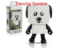 Wholesale Dog Buttons - Newest Mini Bluetooth Speaker Smart Dancing Dog Speakers New Multi Portable Bluetooth Speakers Creative Gift DHL Free Shipping