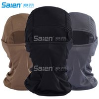 Wholesale Face Mask Winter Running - Balaclava Ski Face Mask Hat Neck Warmer Balaclava Hood for Motorcycle Snowboard Cycling Bandana Outdoor Sports Dustproof Windproof B