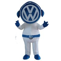 venta de disfraces de mascota al por mayor-2014 venta caliente w insignia de dibujos animados de la mascota traje de personaje de dibujos animados vestido de fiesta traje