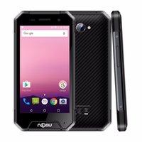 Wholesale Water Proof Mini Cameras - Wholesale IP68 Waterproof 4G Rugged Smartphone 4.7 Inch Android 7.0 Quad Core 3GB RAM 32GB ROM 3000mAh Battery Nomu S30 Mini