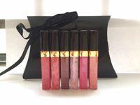 Wholesale Famous Lips - New Famous Brand Lip Gross lip Balm set 6pcs set 6 different colors Smart Repair lip-Gross long lasting Moisturizer free shopping