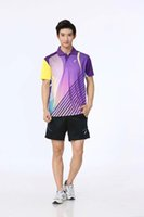 Wholesale Badminton Kit - fashion new design spandex quick dry poleyster bandminton kits