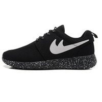 Wholesale Pink Lace Border - New brand Run 2 Original Running Shoes Mens and Womens roche run black and white rushe one rose RunIngs runing shoes size 36-45