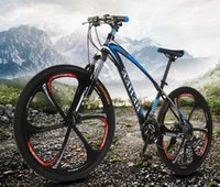 Wholesale Mtb Bike Full Suspension - MTB 2017 High carbon steel material 21 speed 26 inches Spring Fork Cycling factory mountain bike
