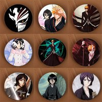 Celtic bleach anime backpack - Youpop BLEACH Kurosaki Ichigo Anime Brooch Pin Badge Accessories For Clothes Hat Backpack Decoration HZ1458