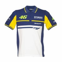 Wholesale Nylon Tee Shirts - Free shipping 2017 New Summer VR46 Tees Motorcycle polo Bike Motocross T-shirt YELLOW THE DOCTOR T-SHIRT VR46 Moto T-Shirt T shirt