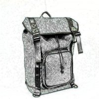 Wholesale Mens Backpack Casual - fashion classic male letter G brand real genuine leather mens backpack shoulder bag large capacity Brand travel backpack big shoulder bag