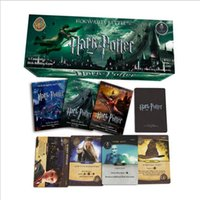 Wholesale Harry Potter Action Figures Wholesale - Harry Potter Trading Card Game English Edition Playing Game Collection Card Toys Voldemort Hermione Action Figures 17pcs set OOA1944