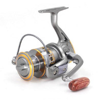 Wholesale Salt Water Tackle Wholesalers - Wholesale Spinning Reel DC Series13BB Ball Bearing Salt Fresh Water Sea Casting Lure Fishing Reel Bass Tackle Line Pesca Free Shipping