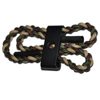 Wholesale Paracord Sling - Compound Bow Archey Sling Wrist Ropes Nylon Paracord Wristbands Bow Rope for Bow Arrow Equipment Hunting Shooting