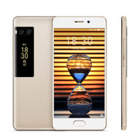 móviles meizu al por mayor-Teléfono celular original Meizu Pro 7 Plus 4G LTE 6GB RAM 64GB 128GB ROM MTK Helio X30 Deca Core Android 5.7 pulgadas 16MP ID de huella digital Teléfono móvil