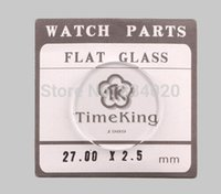 Wholesale Crystal Mineral Wholesalers - Wholesale-Free Shipping 1pc 2.5mm Selected Size 26.5~45mm Flat Mineral Round Watch Glass Accessories Watch Repair Crystal
