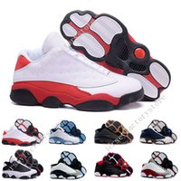 Wholesale Hologram For Sale - (With Box) Cheap Air Men's Basketball shoes Air Retro 13 Low flints grey toe He Got Game hologram barons sport sneaker For hot online sale