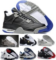 Wholesale Buy Thread - New Retro 4 Basketball Shoes Sports Sneakers Buy 2017 Men Women Retros 4s Man Zapatillas Authentic Original Real Replicas