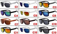 Wholesale Aluminum Alloy Bike Frames - 2017 hot sale sports sunglasses hoolbrook style outdoor cycling sun glasses for men women bike glasses 0709A