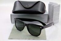 Wholesale Eye Glass Rimless Frames - 1pcs Excellent Quality Fashion Designer Sunglasses Semi Rimless Sun Glasses For Mens Womens Eyewear sunglasses come with box