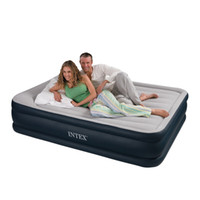 Wholesale Mattress Double Size - Wholesale-Intex 67736 two person double size air beds set in Bedroom Furniture inflatable bed,size 152*203*47cm,include repair patch