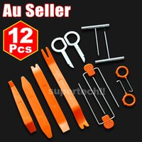 Wholesale 12Pcs Car Trim Removal Tool Pry Panel Dash Radio Door Body Clip Installer Kit